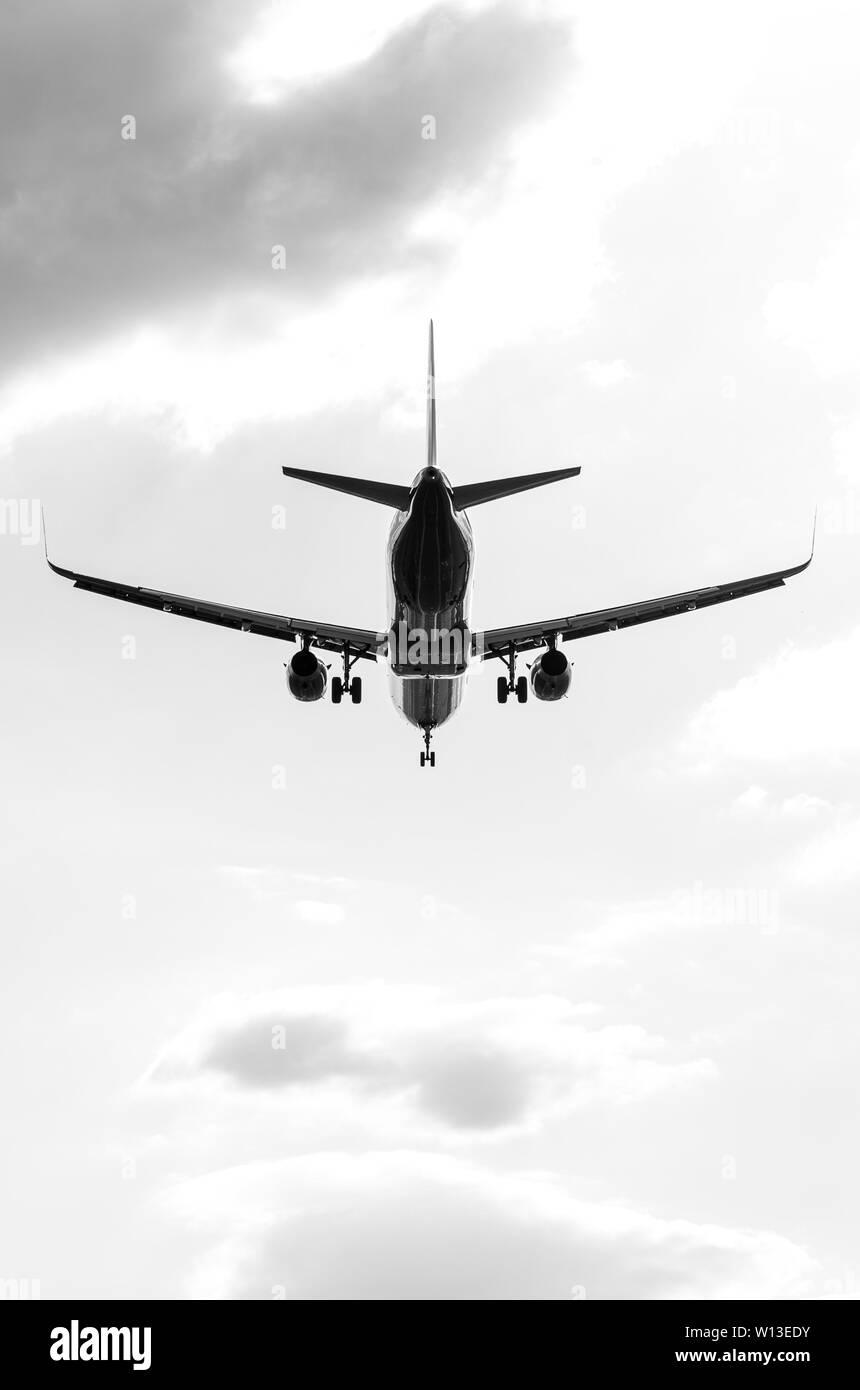 Wizzair Airbus A320 Landing On Sof Sofia International Airport Bulgaira Wizz Air Fleet Stock Photo Alamy