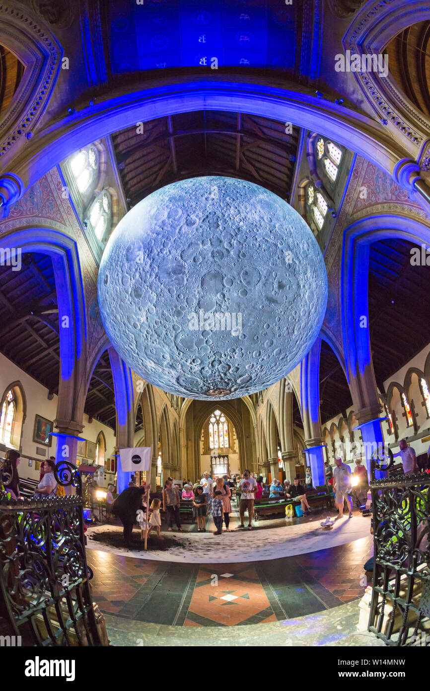 1257b5a6 Pledge by Carrie Mason, part of Dorset Moon, a celebration of the first moon  landing 50 years ago. Inspired by astronaut Neil Armstrong's famous words,  ...