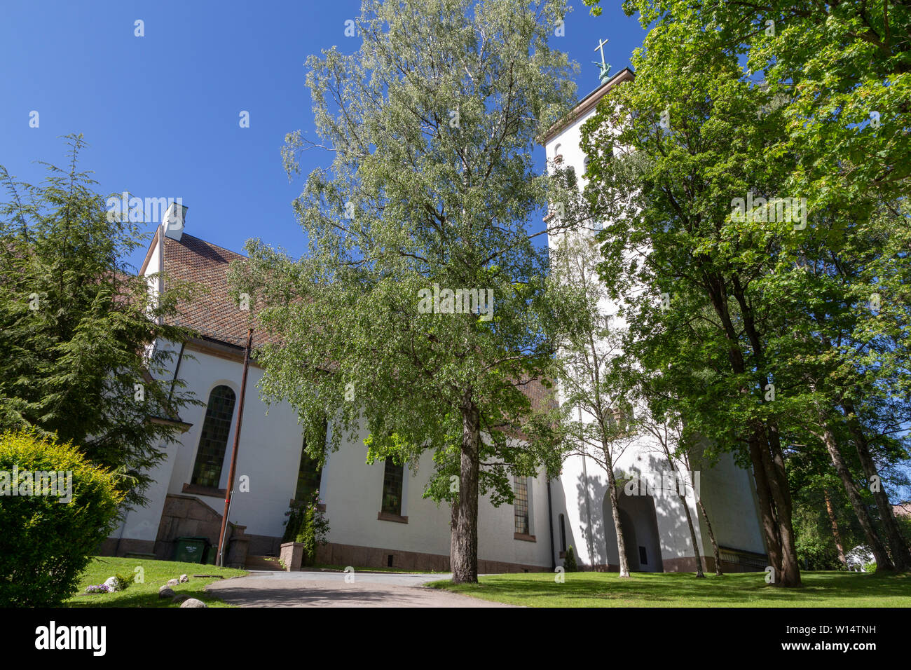 Ris Church in Olso, Norway - Stock Image