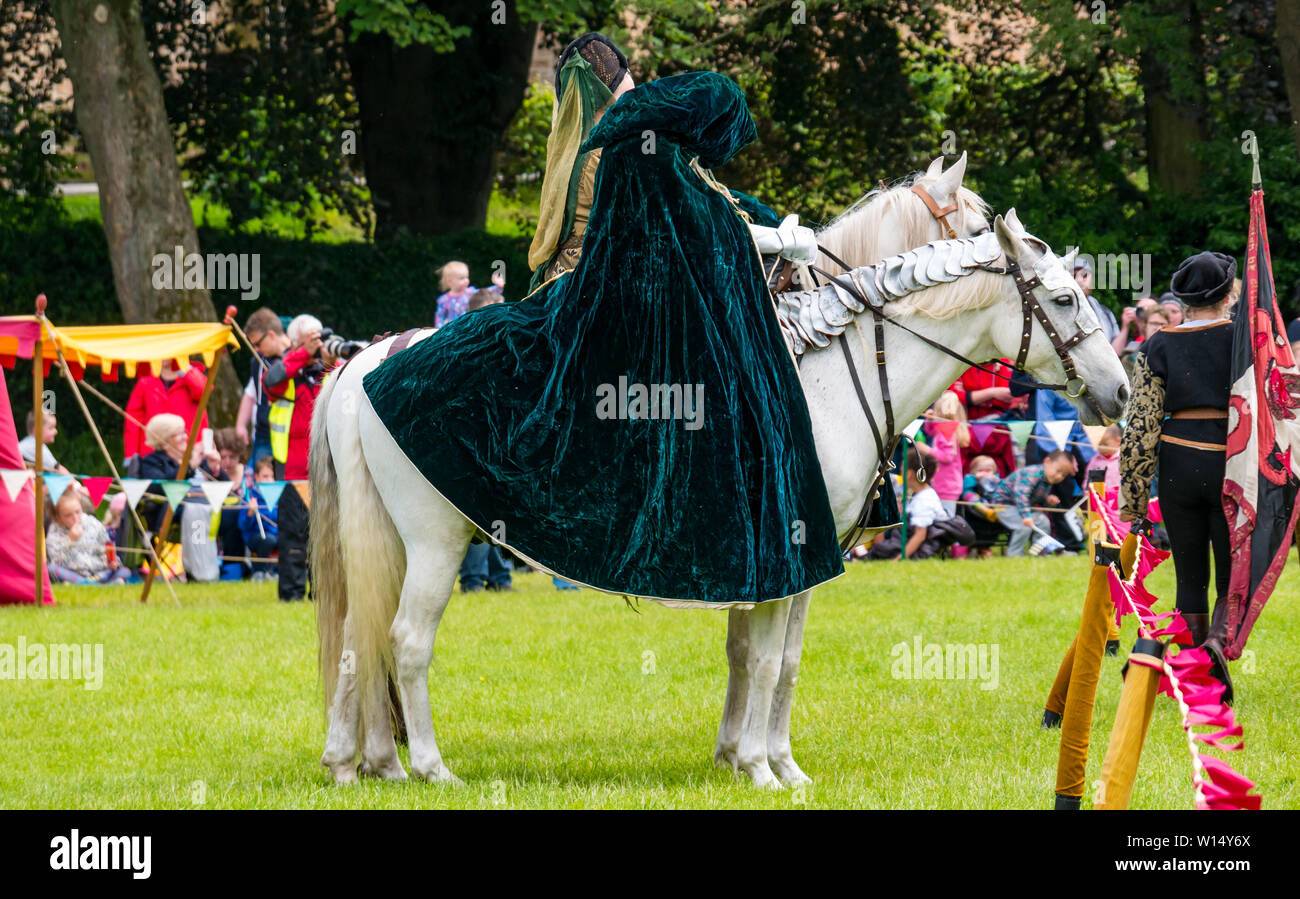 Horse Dressed In Medieval Costume High Resolution Stock Photography And Images Alamy