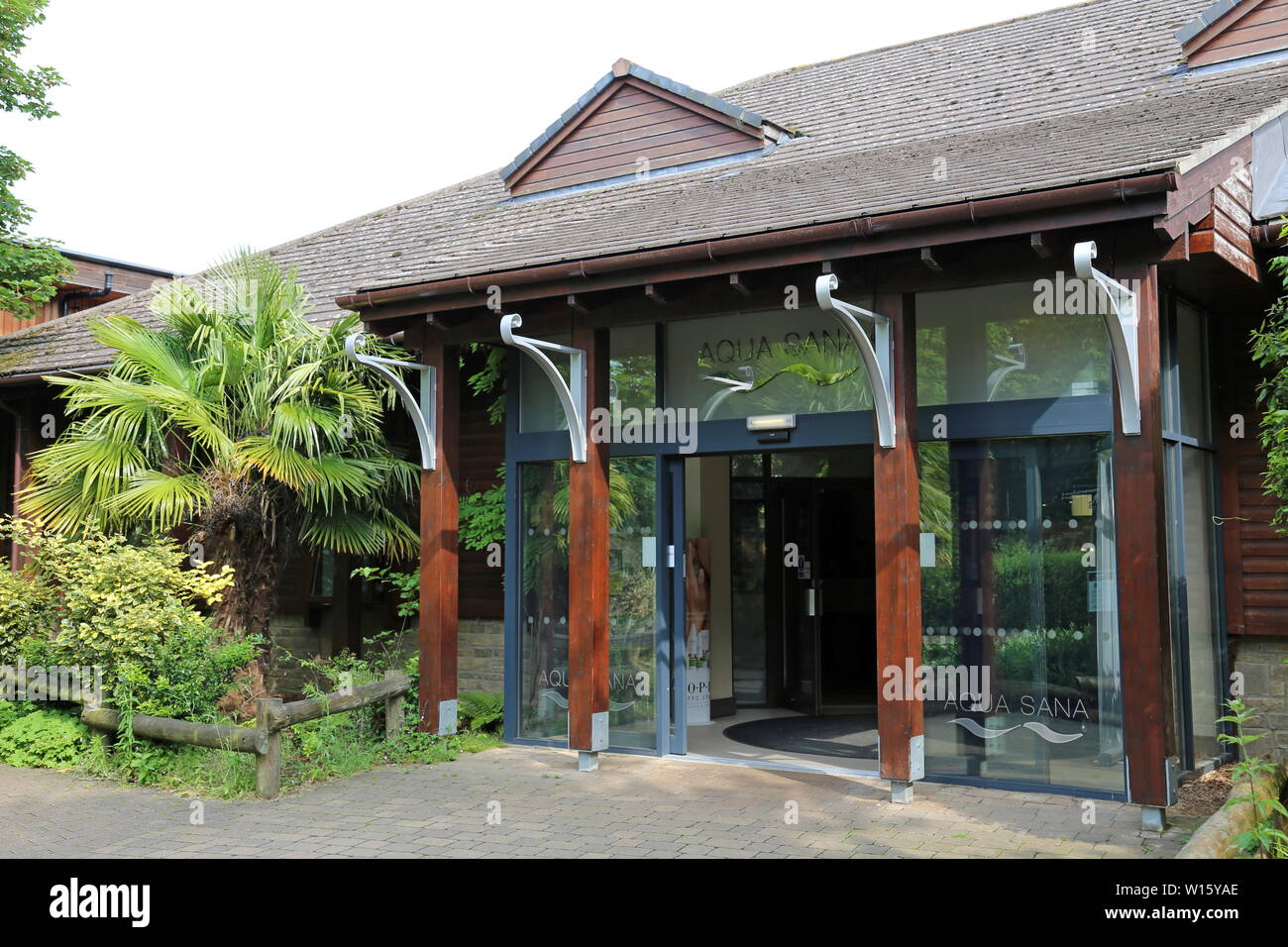 Aqua Sana Spa Entrance Center Parcs Elveden Forest Brandon