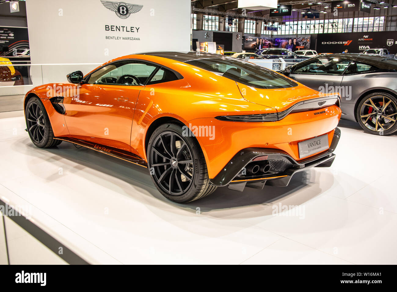 Orange Sports Car High Resolution Stock Photography And Images Alamy