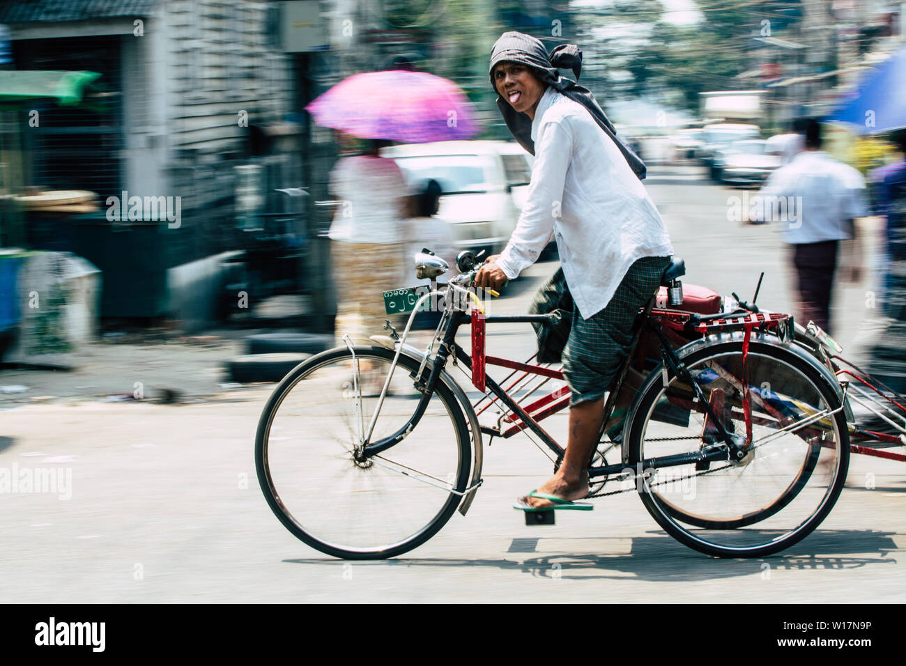 Traditional Indian Bicycle Stock Photos & Traditional Indian