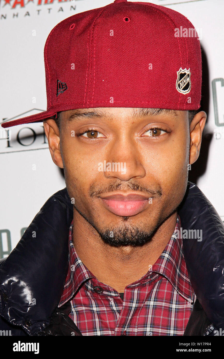 New York, USA. 17 December, 2008. Terrence J at the Celebration for Patty Laurent's birthday at Home. Credit: Steve Mack/Alamy - Stock Image
