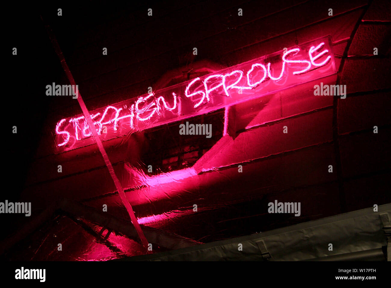 New York, USA. 8 January, 2009. Atmosphere at the Tribute to Stephen Sprouse at The Bowery Ballroom. Credit: Steve Mack/Alamy - Stock Image