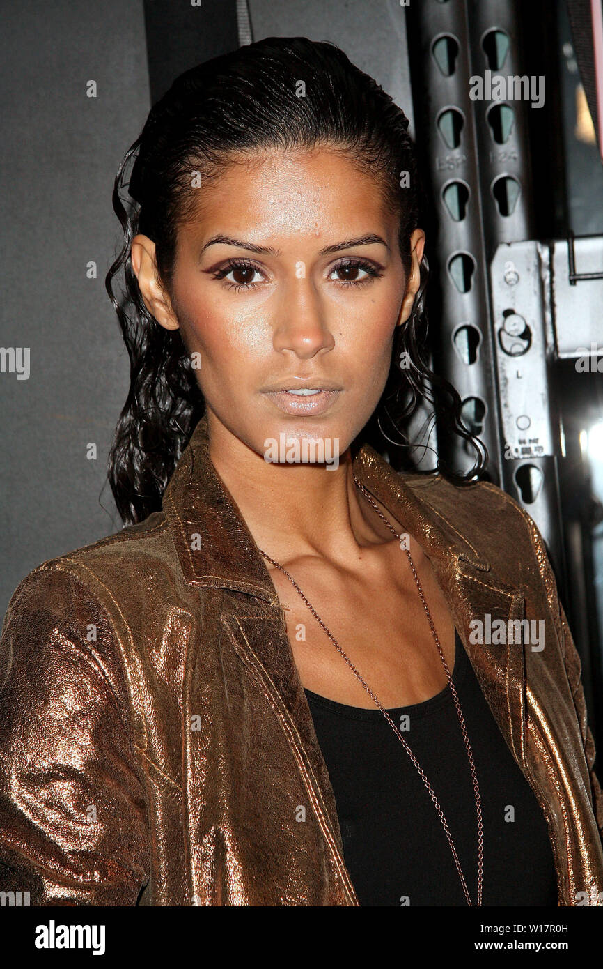 New York, USA. 8 January, 2009. Jazline at the Tribute to Stephen Sprouse at The Bowery Ballroom. Credit: Steve Mack/Alamy - Stock Image