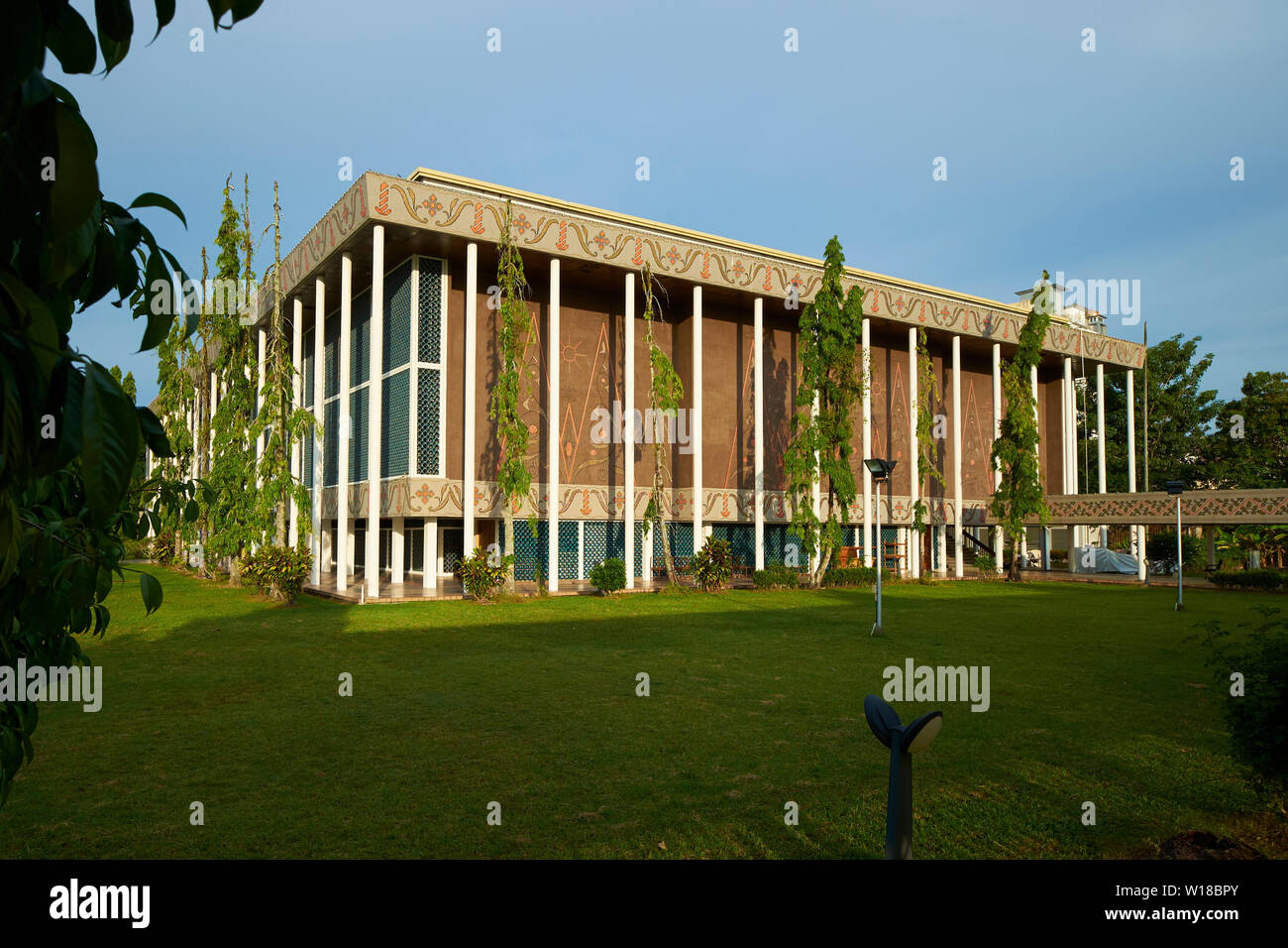 Exterior view of the Legislative building in Bandar Seri Begawan, Brunei - Stock Image