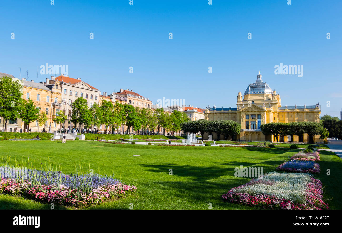 Zagreb Croatia Park Stock Photos Zagreb Croatia Park Stock