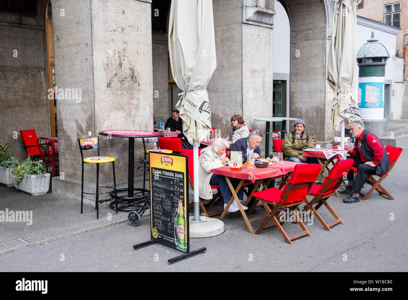 Zagreb Cafe High Resolution Stock Photography And Images Alamy