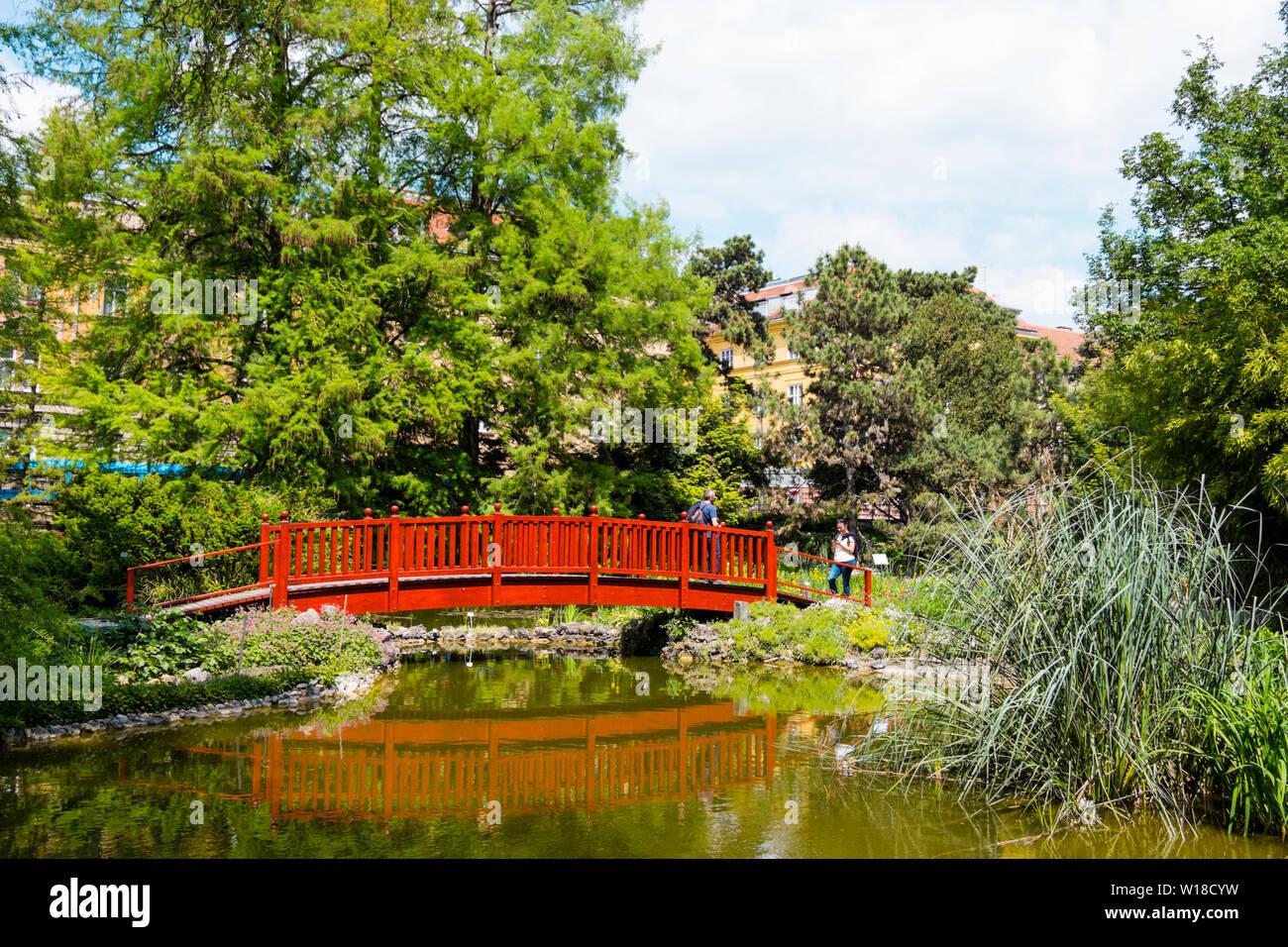 Botanicki Vrt Botanical Garden Zagreb Croatia Stock Photo Alamy