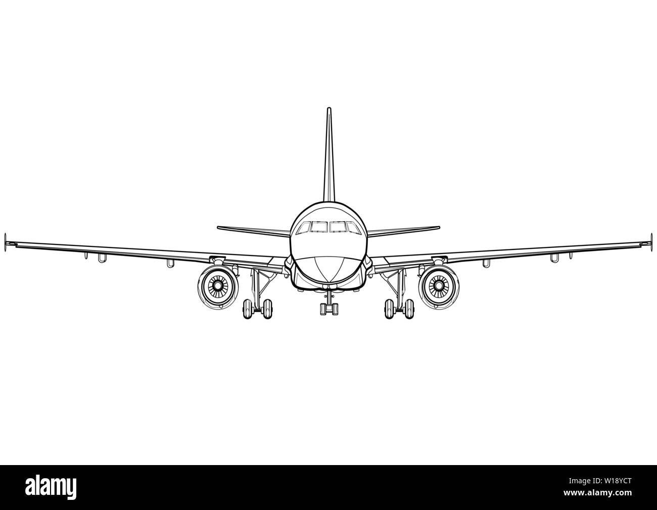 Aircraft Drawing High Resolution Stock Photography And Images Alamy