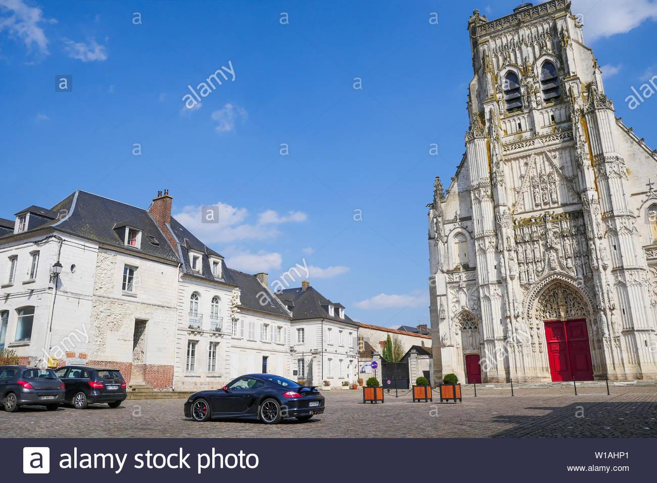 Saint-Riquier Baie de Somme Abbey Church, Saint-Riquier