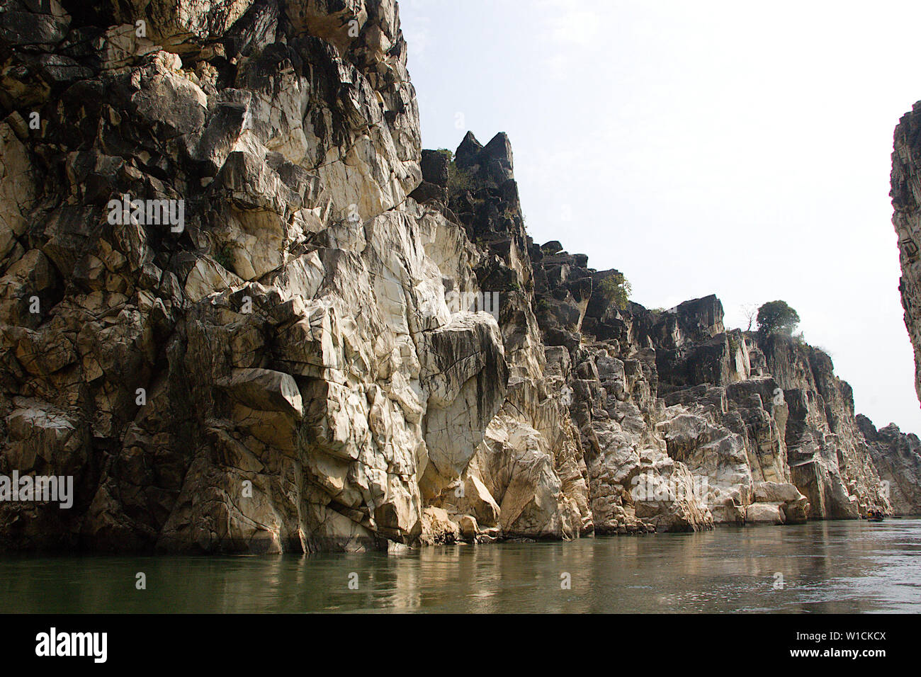 Asia Carrera Marble marble rock formation stock photos & marble rock formation
