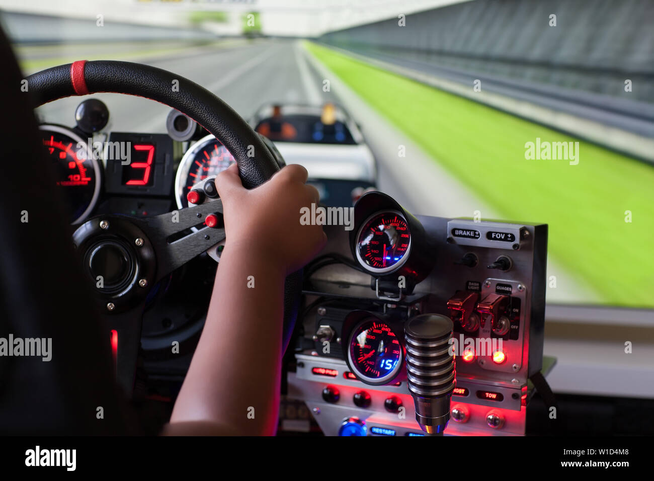 Racing Simulation Stock Photos & Racing Simulation Stock Images - Alamy