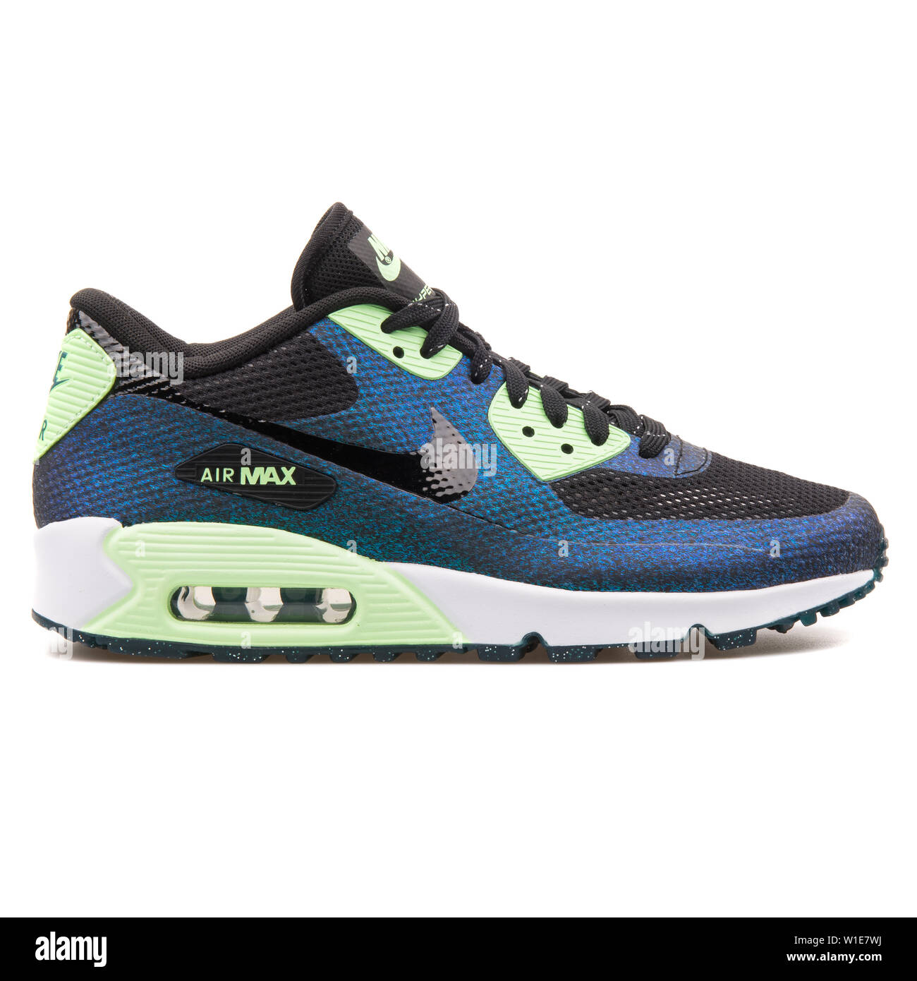 billig Nike Air Max 90 HYP WC QS Black And Green Teal