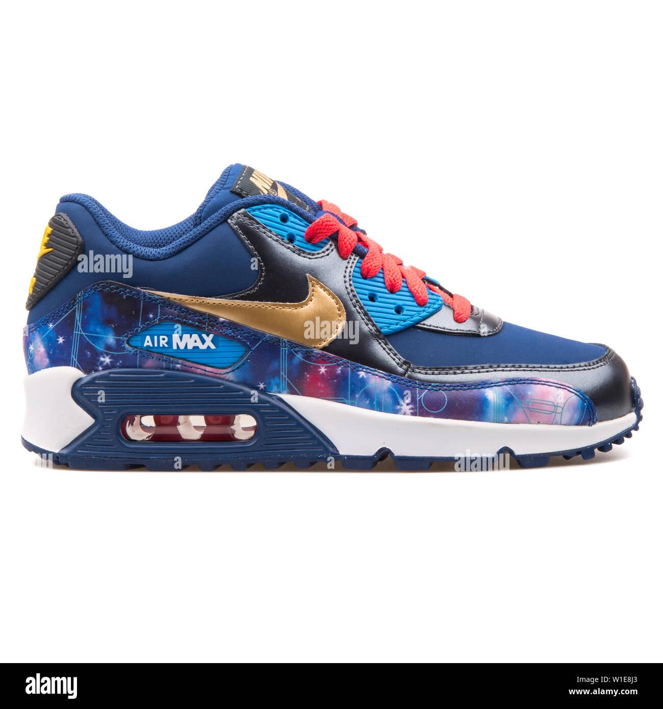 Nike Air Max 90 Premium Leather blue