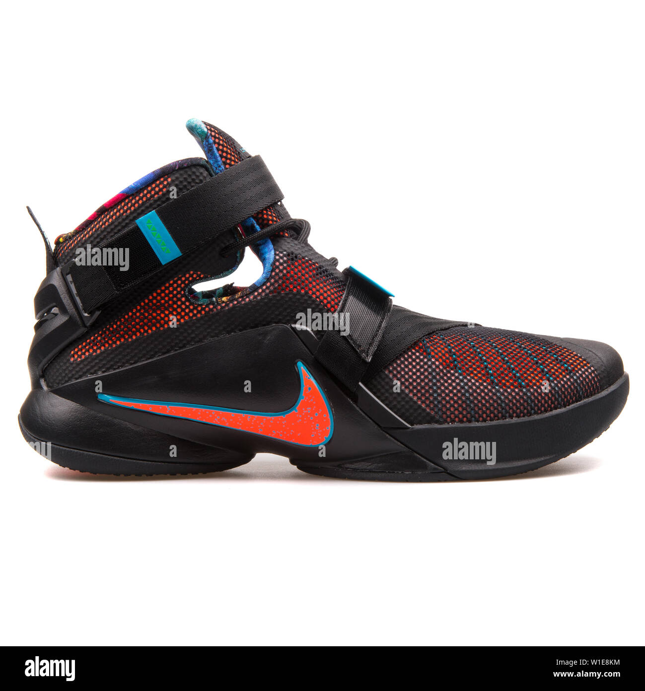 cheaper 68454 39a76 VIENNA, AUSTRIA - AUGUST 25, 2017: Nike Lebron Soldier IX ...