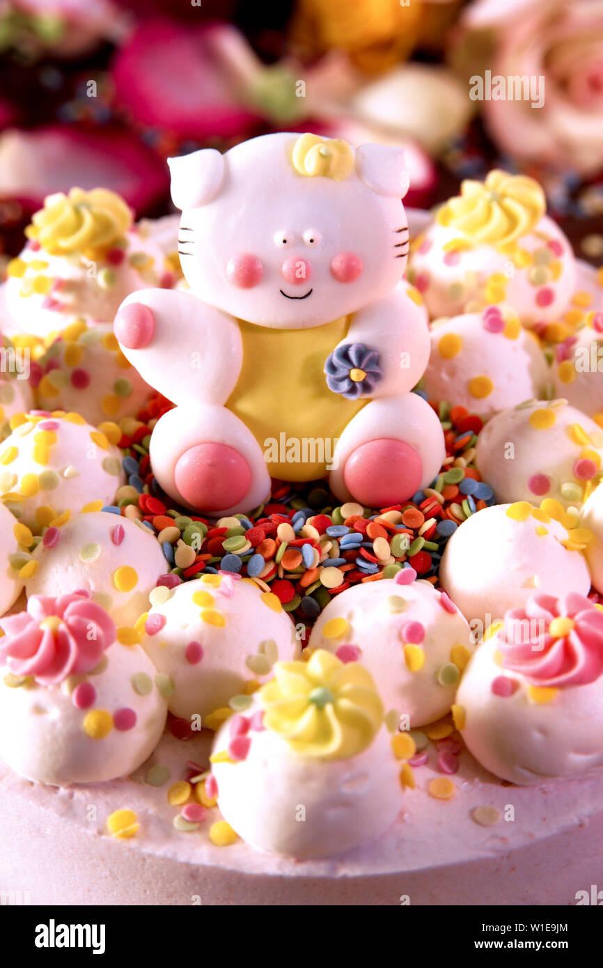 Terrific Children Birthday Birthday Cake Cream Cake Stock Photo 259085084 Funny Birthday Cards Online Alyptdamsfinfo