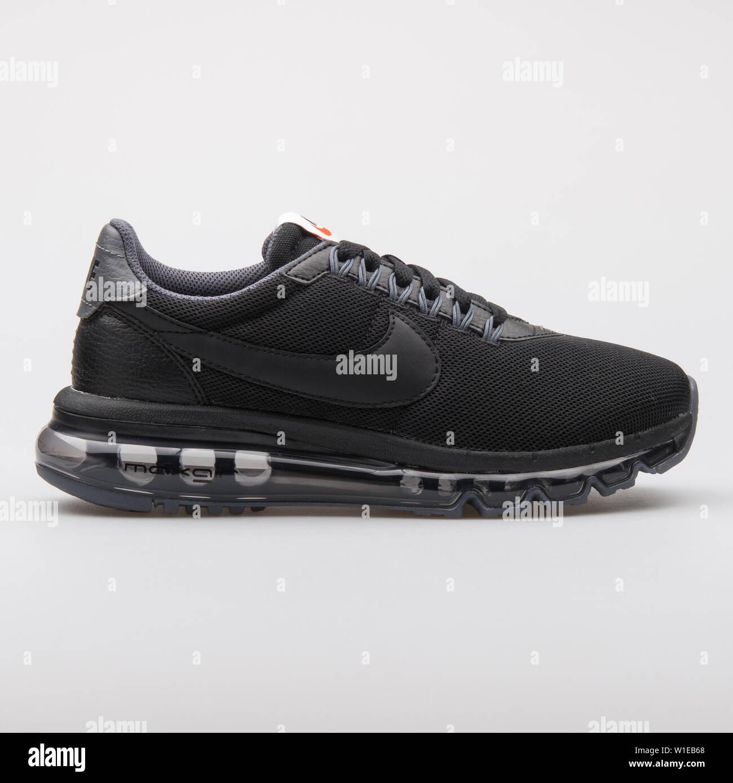 newest 7a20c 14d6f VIENNA, AUSTRIA - AUGUST 7, 2017: Nike Air Max LD Zero black ...