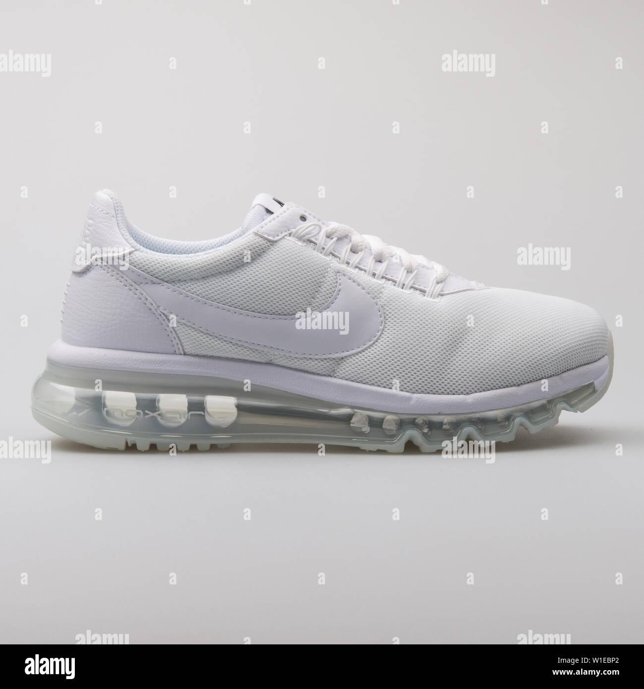 promo code 3f694 4e823 VIENNA, AUSTRIA - AUGUST 7, 2017: Nike Air Max LD Zero white ...