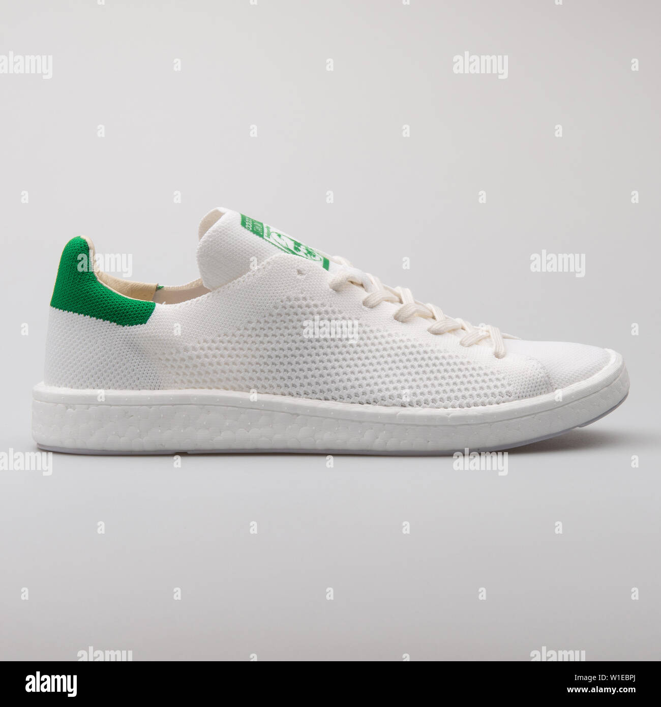 best sneakers e63d5 55d96 VIENNA, AUSTRIA - AUGUST 7, 2017: Adidas Stan Smith PK white ...