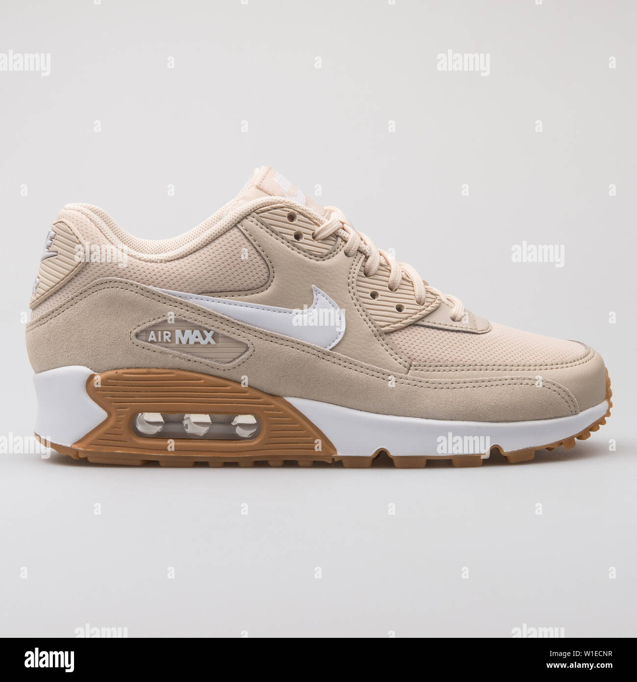 info for 9d6d7 0ee82 VIENNA, AUSTRIA - AUGUST 7, 2017: Nike Air Max 90 beige and ...
