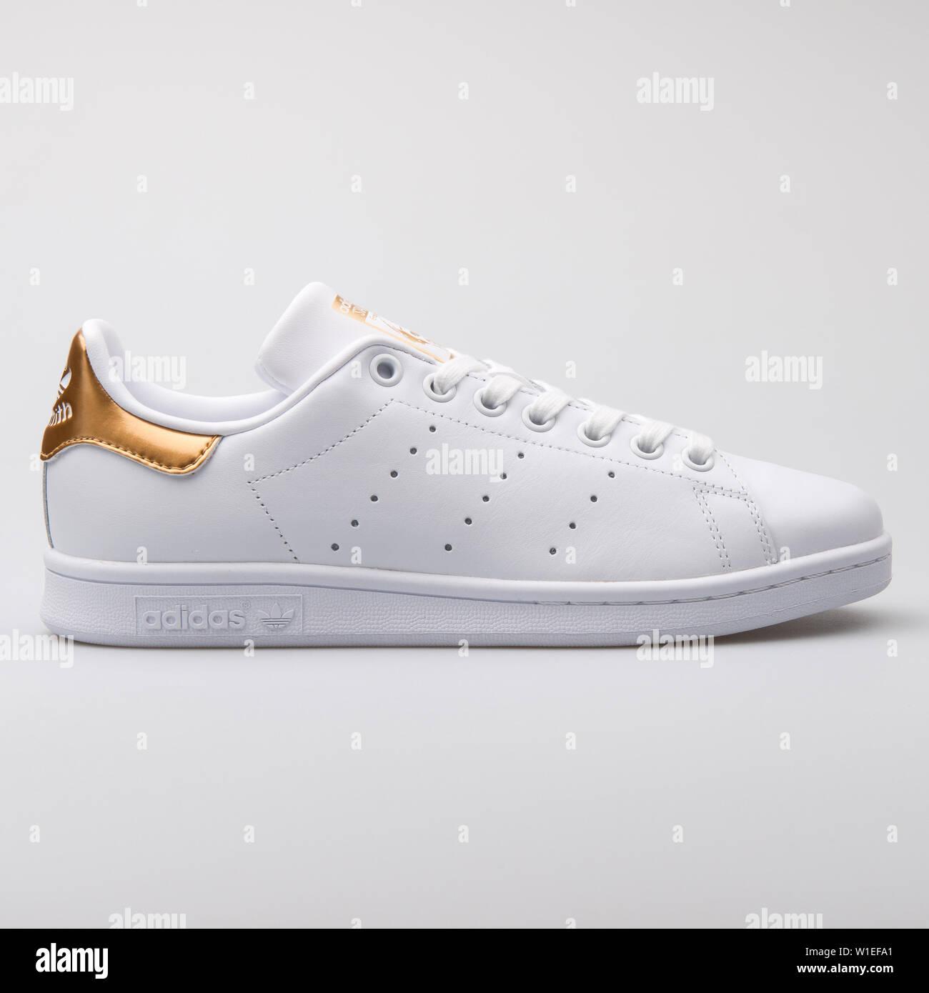 new concept b8f82 85c92 VIENNA, AUSTRIA - AUGUST 7, 2017: Adidas Stan Smith white ...