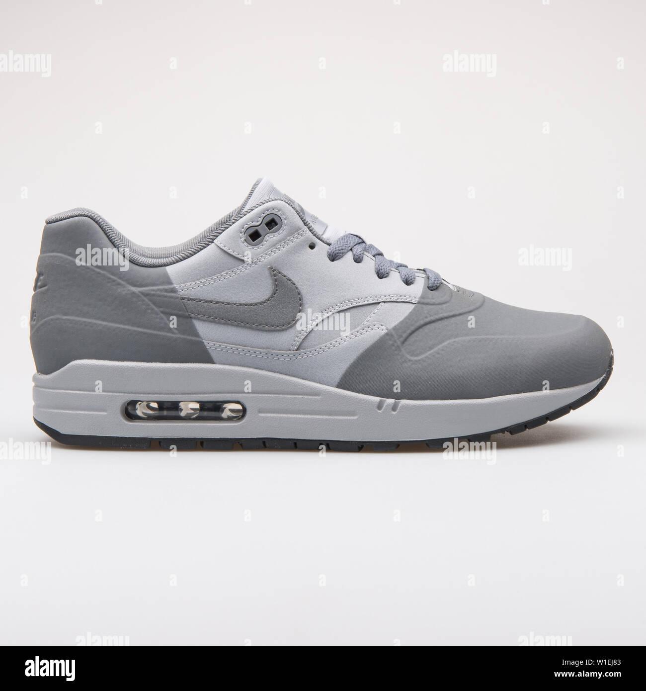 new style d2f22 61e86 VIENNA, AUSTRIA - AUGUST 23, 2017: Nike Air Max 1 Premium SE ...