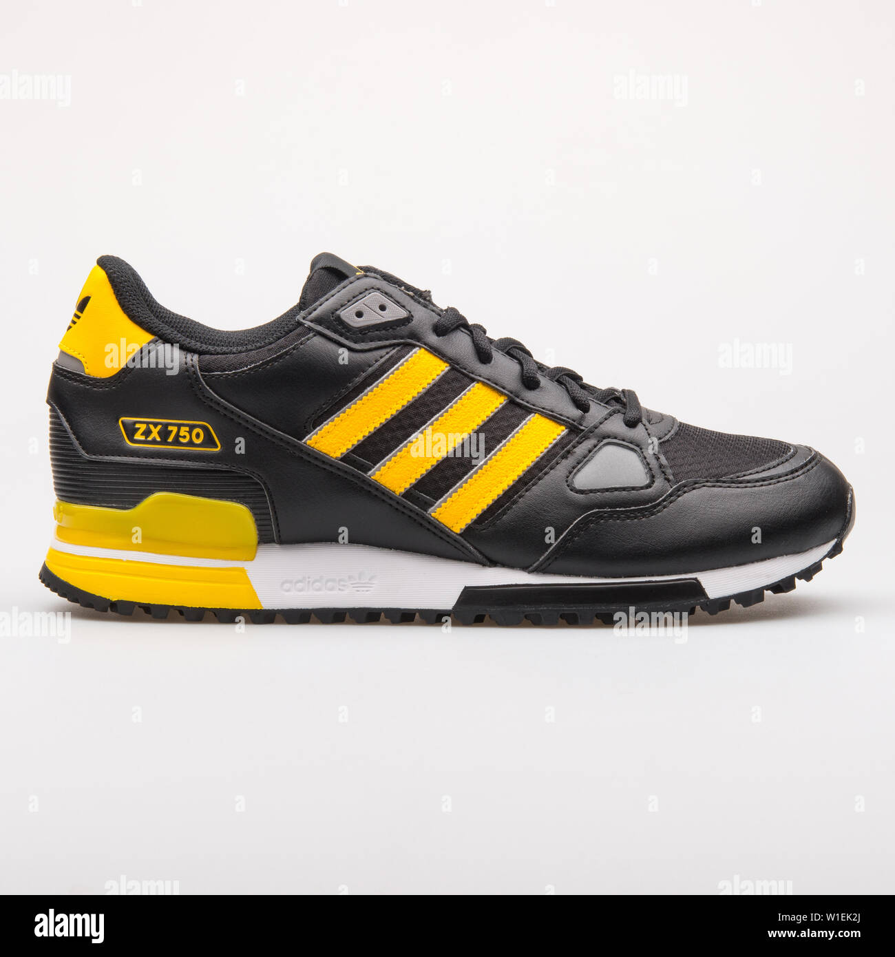 competitive price b7787 cc8f9 VIENNA, AUSTRIA - AUGUST 23, 2017: Adidas ZX 750 black and ...