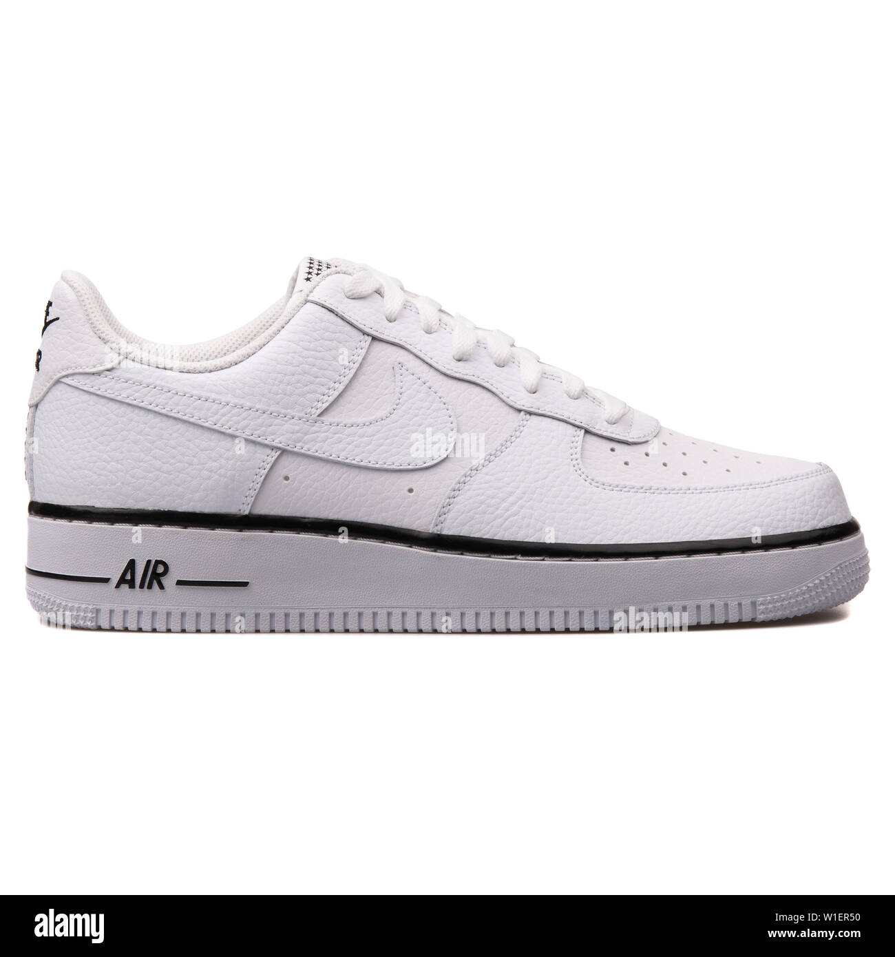 d80752b7 Nike Air Force 1 White Stock Photos & Nike Air Force 1 White Stock ...