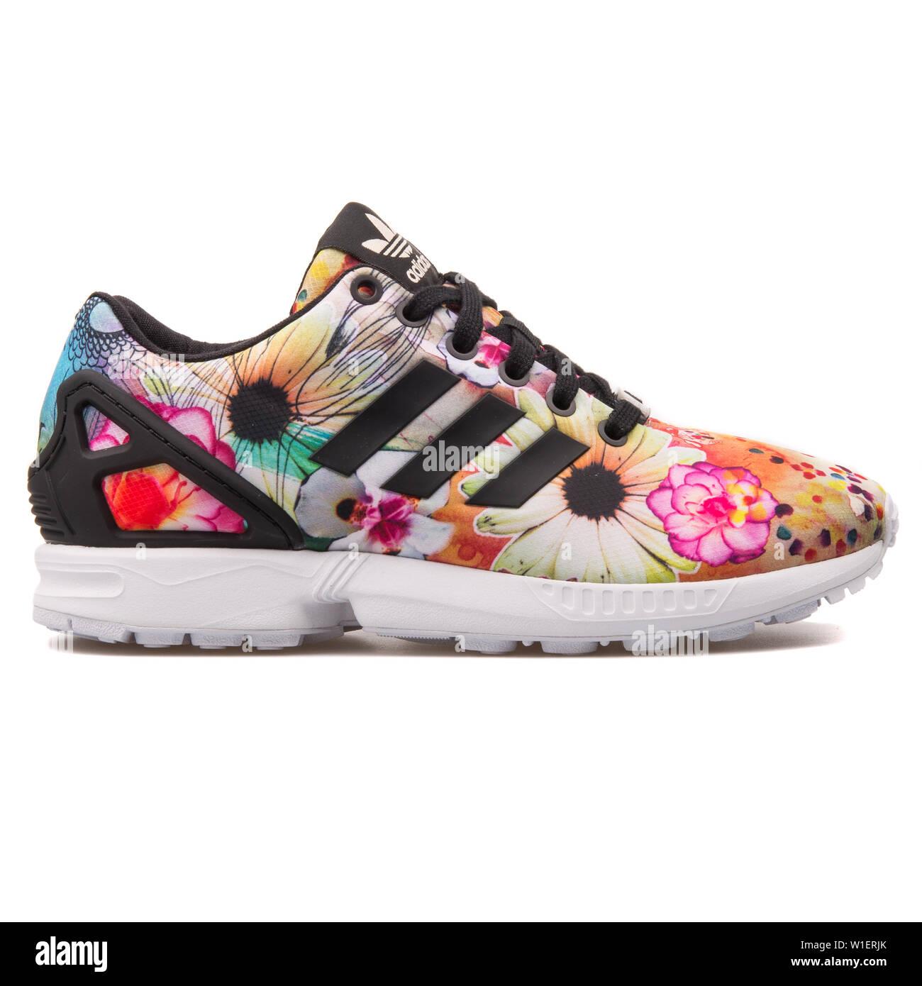 hot sale online 4cc98 68d88 VIENNA, AUSTRIA - AUGUST 10, 2017: Adidas ZX Flux floral ...