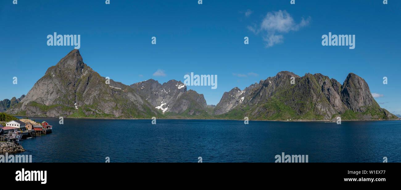 Hamnoy, Lofoten Islands,Norway. - Stock Image