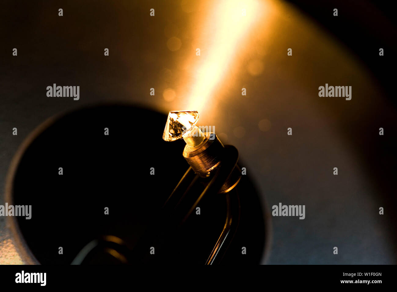 ANTWERP'S DIAMOND DISTRICT Stock Photo