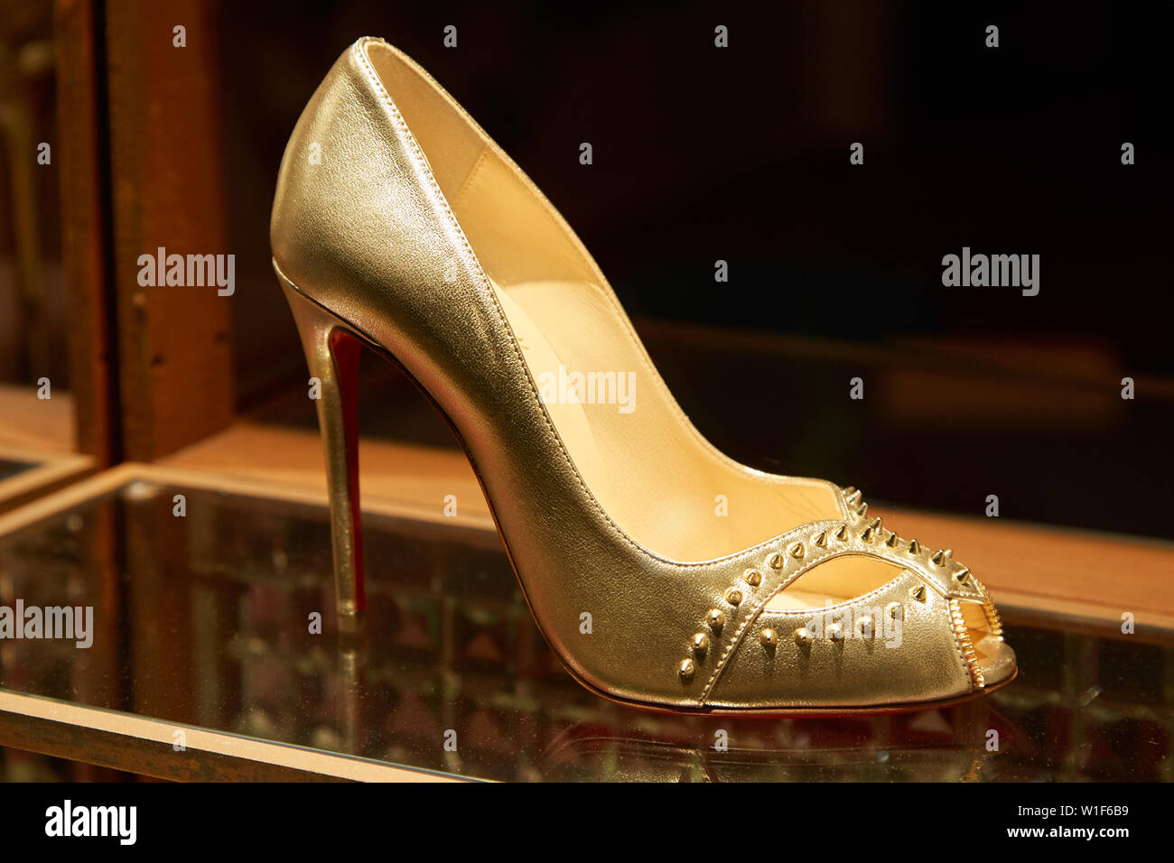 4298cc397c5 Christian Louboutin Shoes Stock Photos & Christian Louboutin Shoes ...