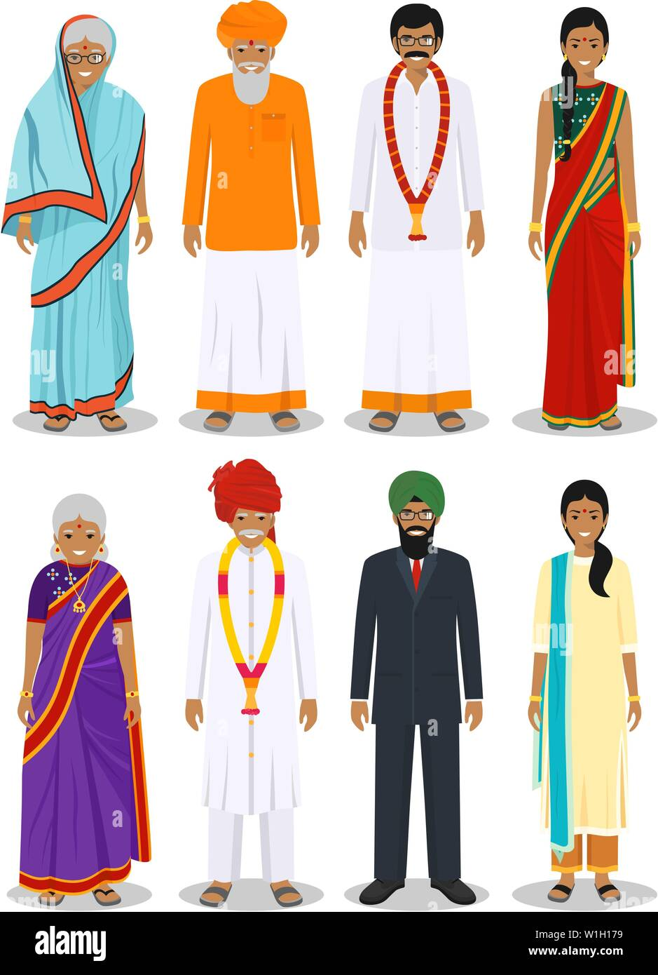 Indian Clothes High Resolution Stock Photography And Images Alamy