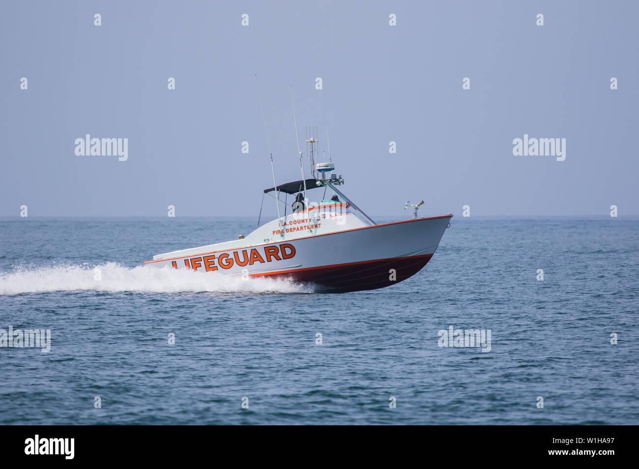 Lifeguard Boat Stock Photos & Lifeguard Boat Stock Images