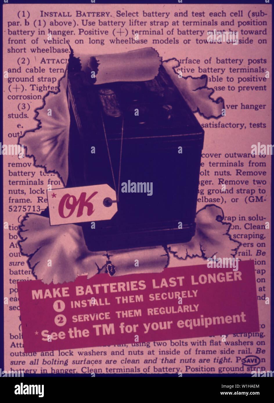 OK MAKE BATTERIES LAST LONGER Stock Photo: 259151612 - Alamy