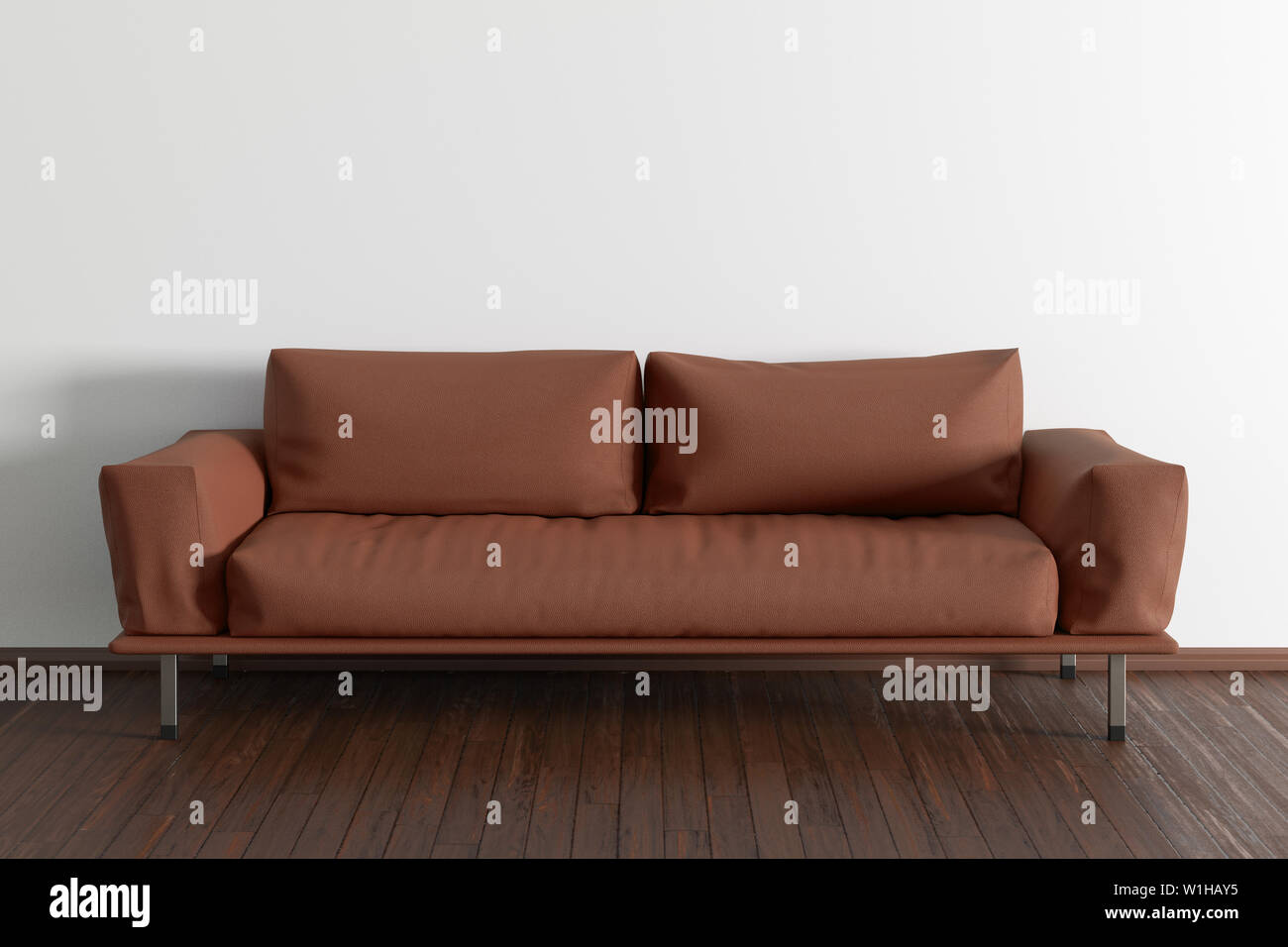 Tremendous Brown Leather Couch In Interior Of Living Room With Wooden Gmtry Best Dining Table And Chair Ideas Images Gmtryco