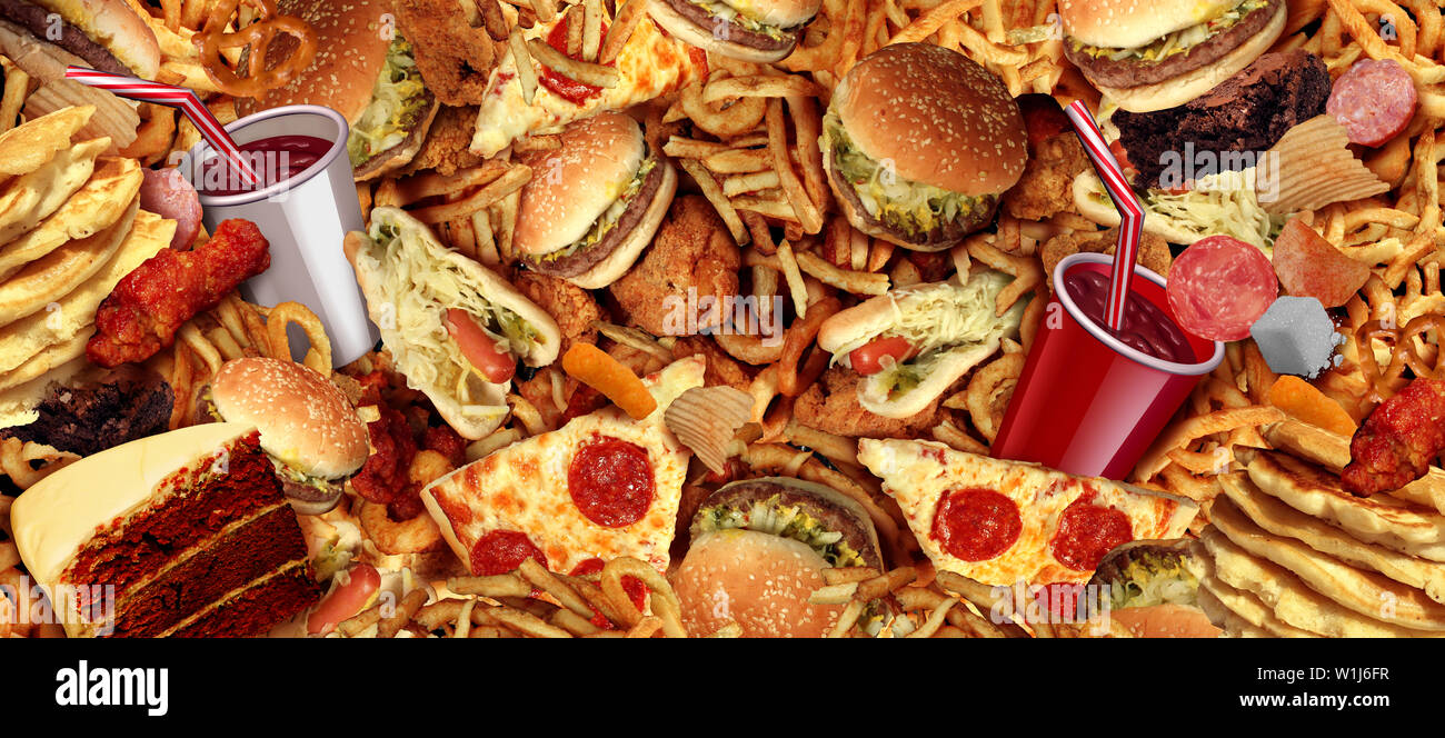 Pizza Burger Fries High Resolution Stock Photography And Images Alamy