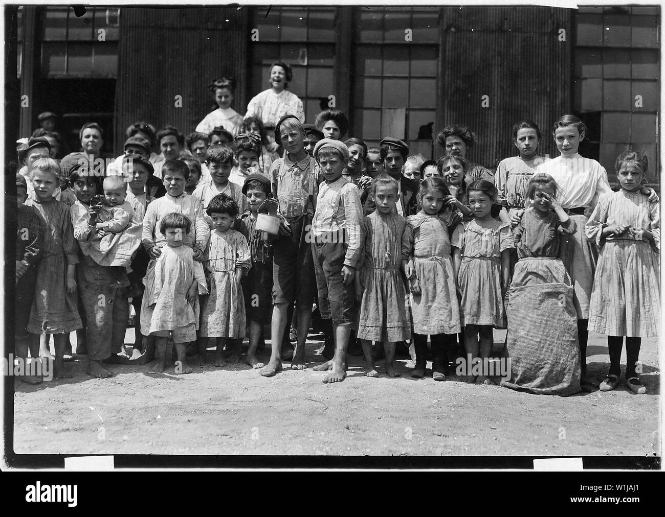 Some of the workers in the Farrand Packing Co. Baltimore, Md. - Stock Image
