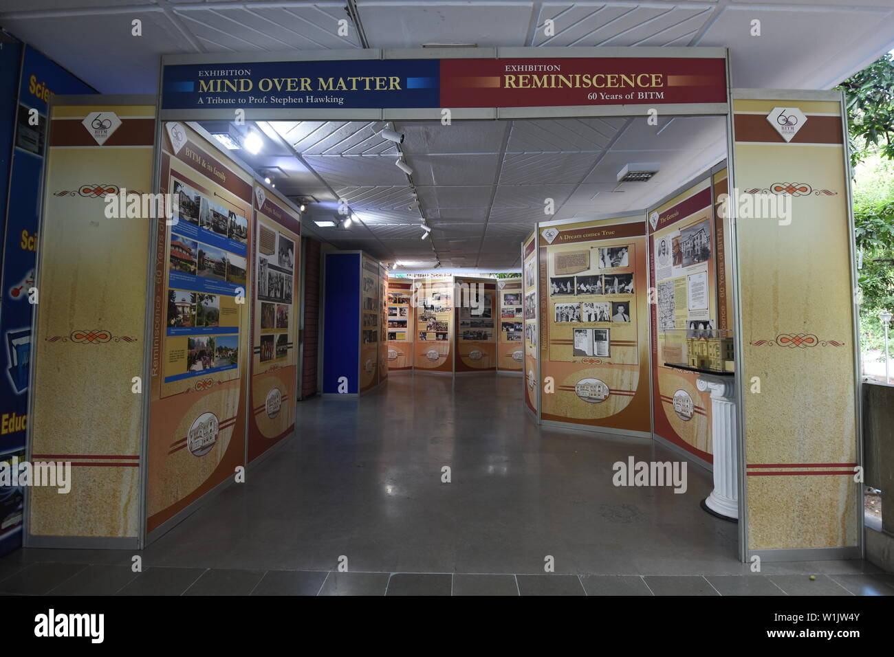 Kolkata, India. 22nd June, 2019. Reminiscence. An exhibition on 60 years of the Birla Industrial & Technological Museum, 19A Gurusaday Road. Stock Photo