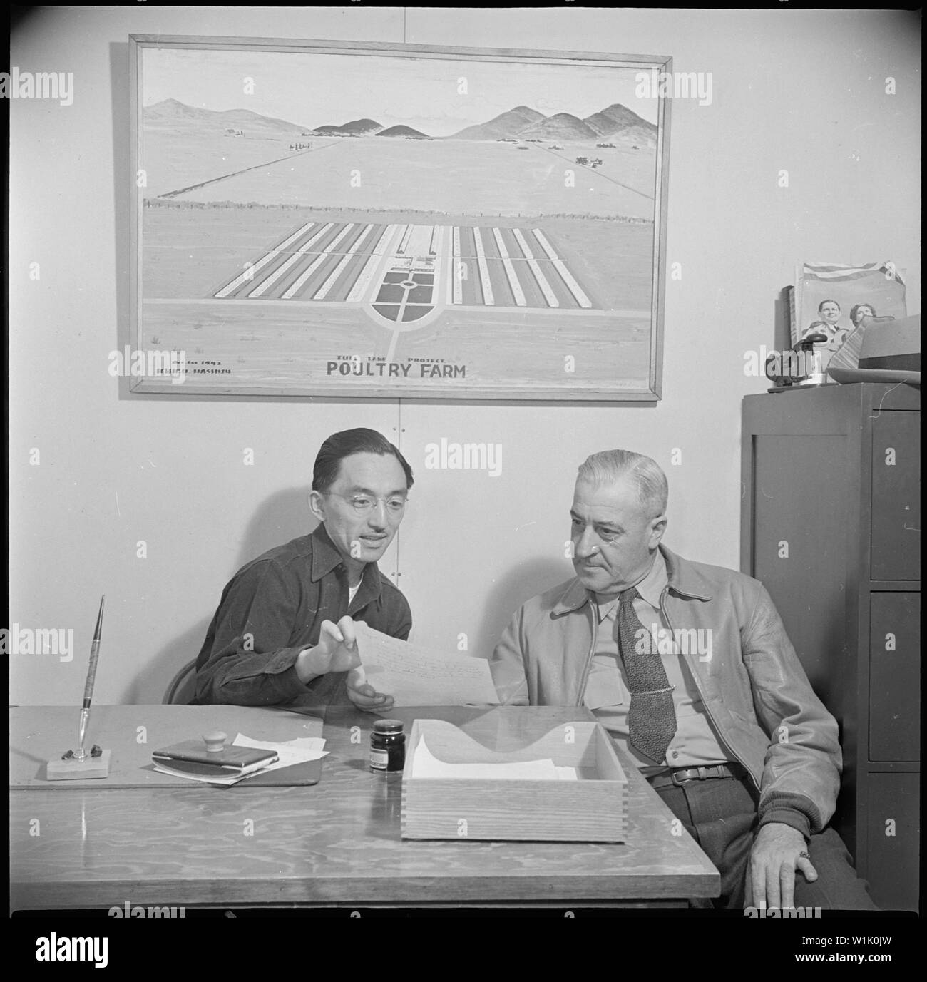Tule Lake Relocation Center, Newell, California  Harry