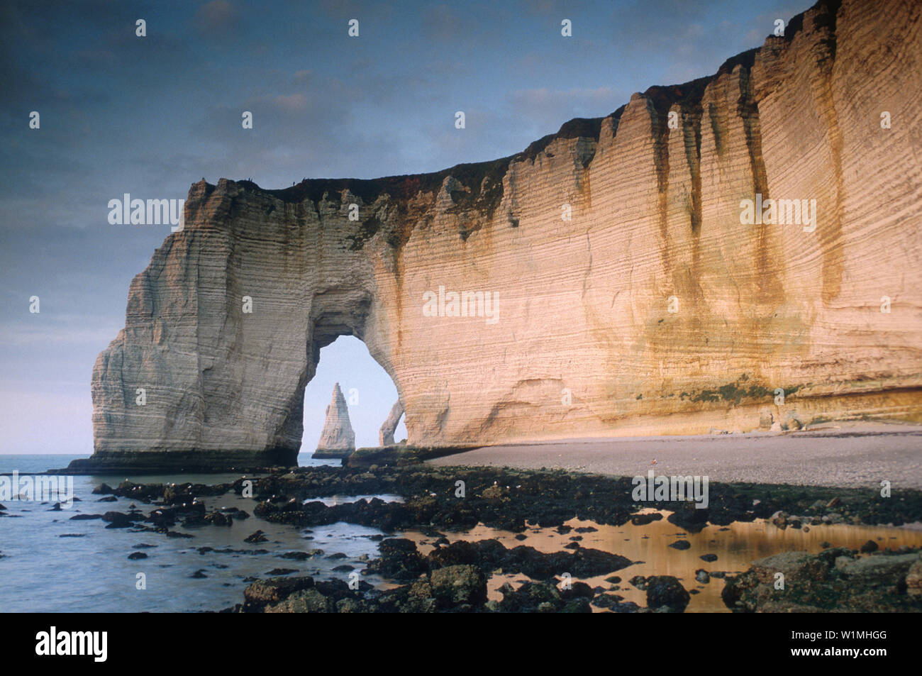 Etretat Normandie Frankreich Stock Photo Alamy