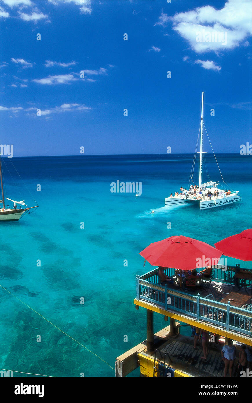 Jamaica Montego Bay Party Stock Photos & Jamaica Montego Bay