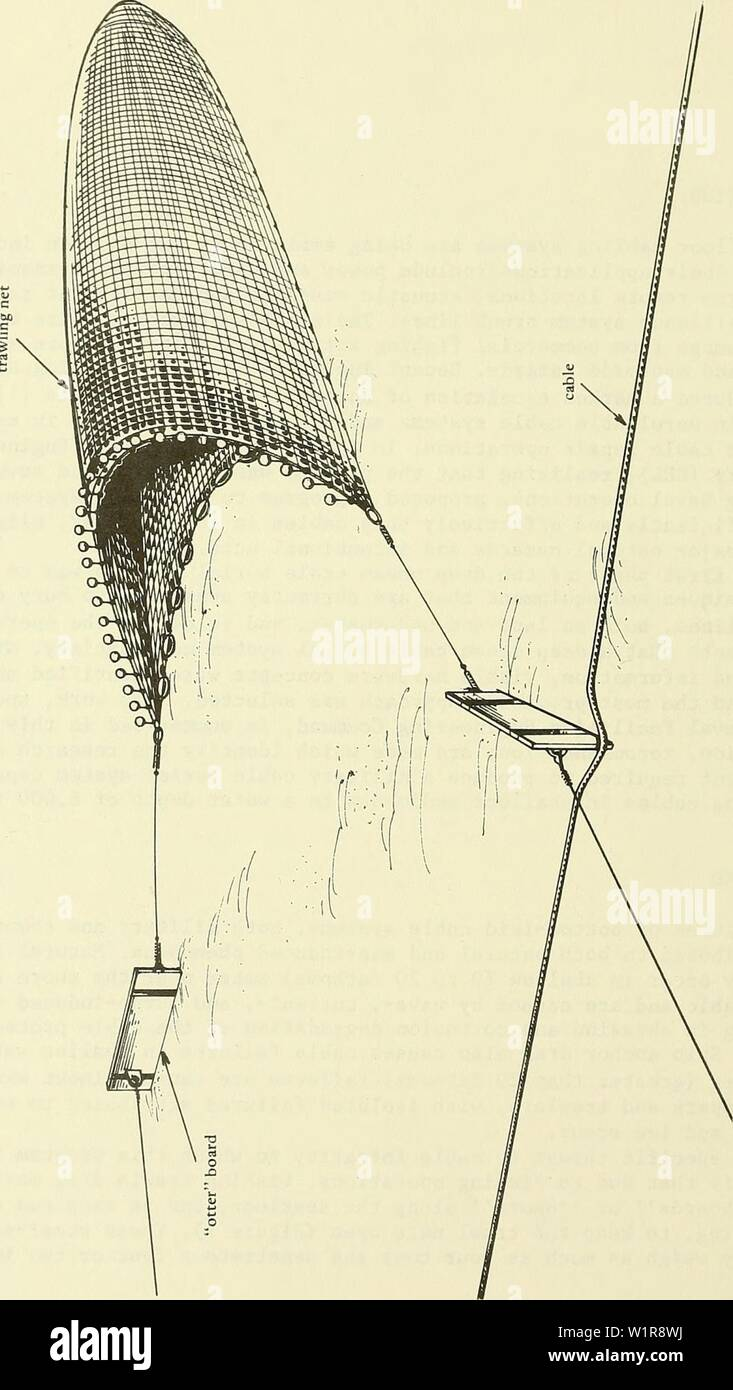 Archive image from page 9 of Deep ocean cable burial concept Stock Photo