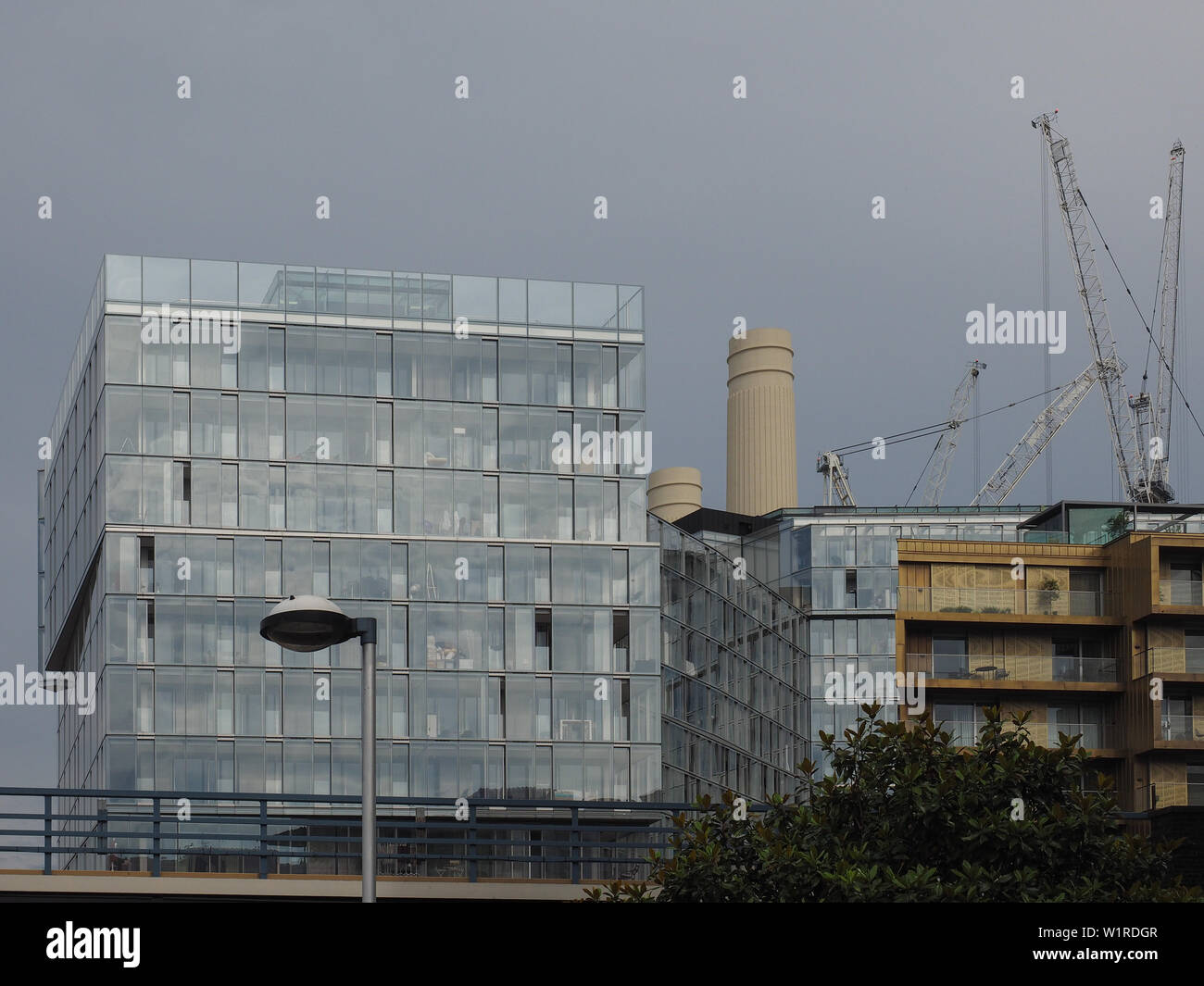 LONDON, UK - CIRCA JUNE 2019: Battersea Power Station redevelopment - Stock Image