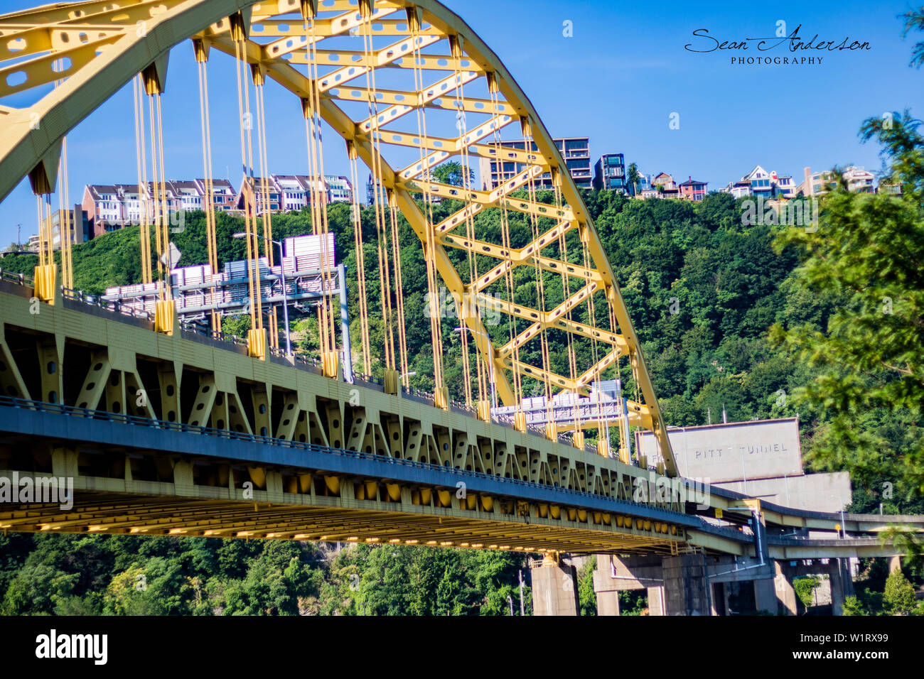 Fort Pitt Bridge Stock Photo