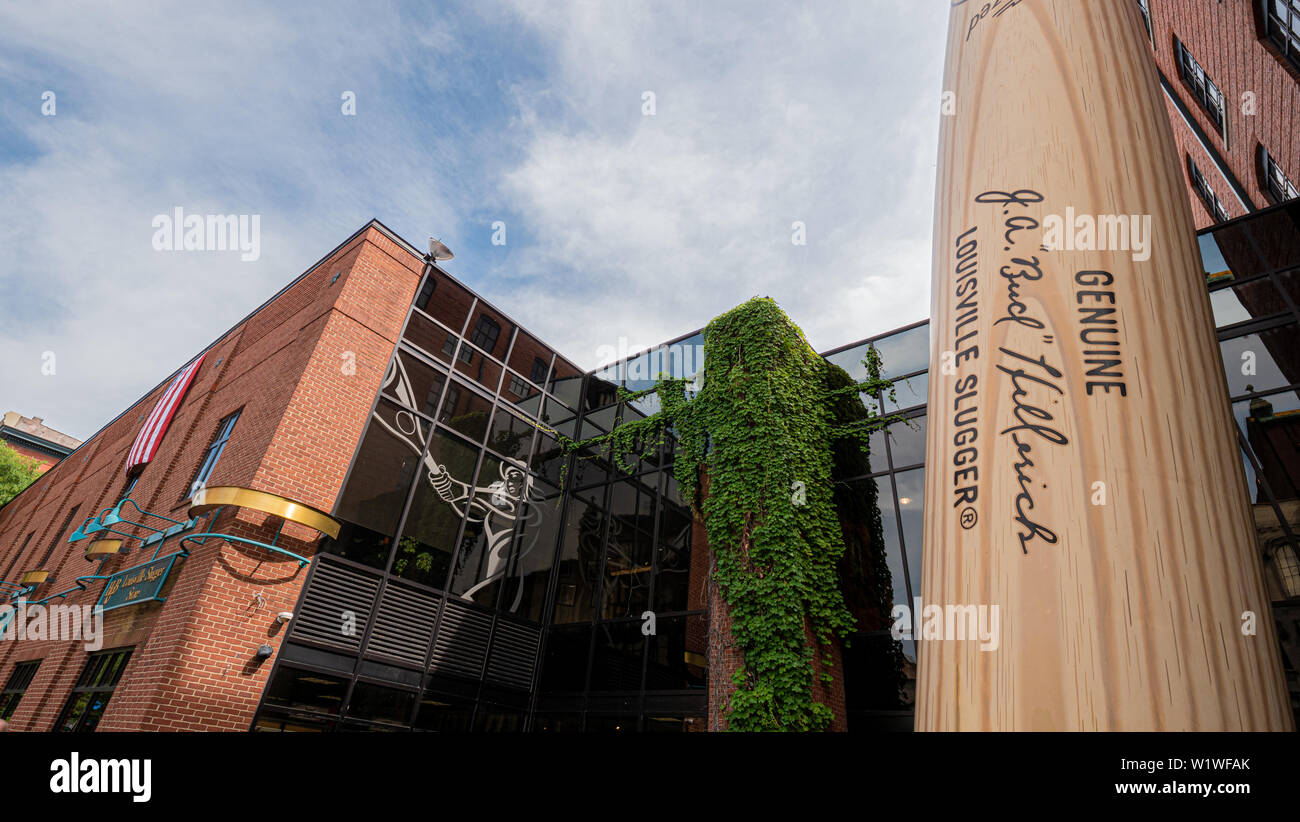 Louisville Slugger museum and factory - LOUISVILLE  USA