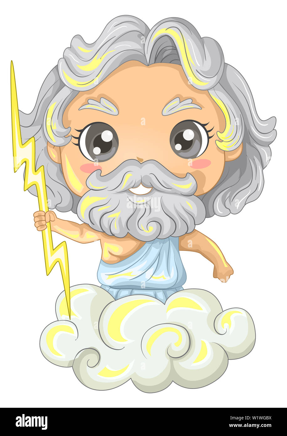 Zeus God Cut Out Stock Images Pictures Alamy