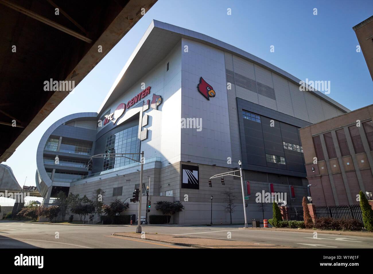 The KFC Yum! center Louisville Kentucky USA - Stock Image